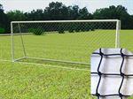 Resim  Nizami Futbol Kale Ağı Naylon 12 x 12 Göz Aralığı