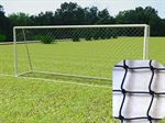 Resim  Nizami Futbol Kale Ağı Naylon 15 x 15 Göz Aralığı